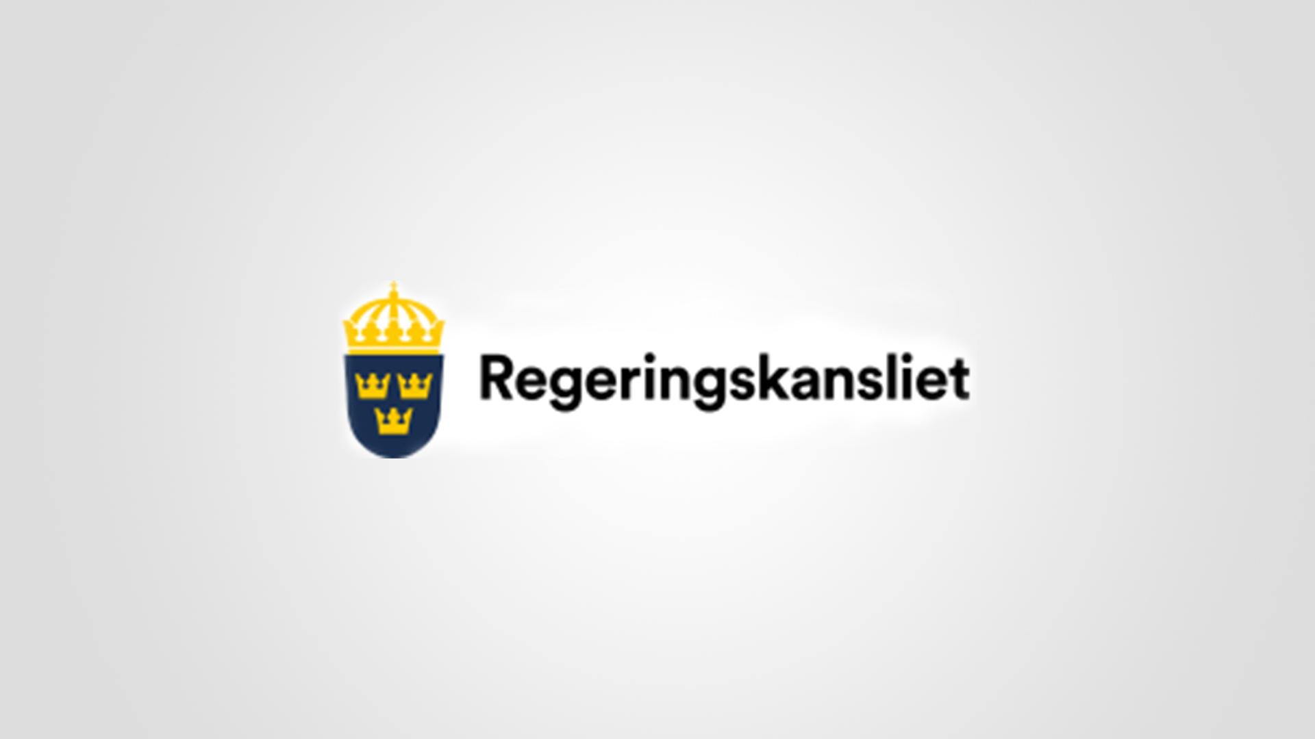 Regeringskansliets logotyp.