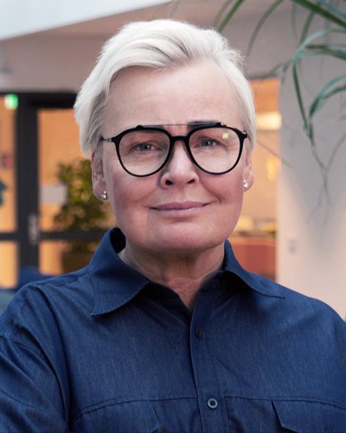 Camilla Wengelin, kommunikatör vid Myndigheten för arbetsmiljökunskap