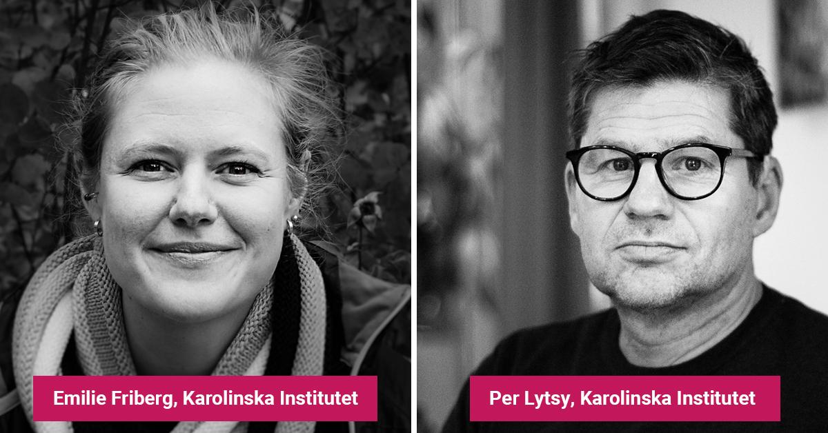 Emelie Friberg och Per Lytsy