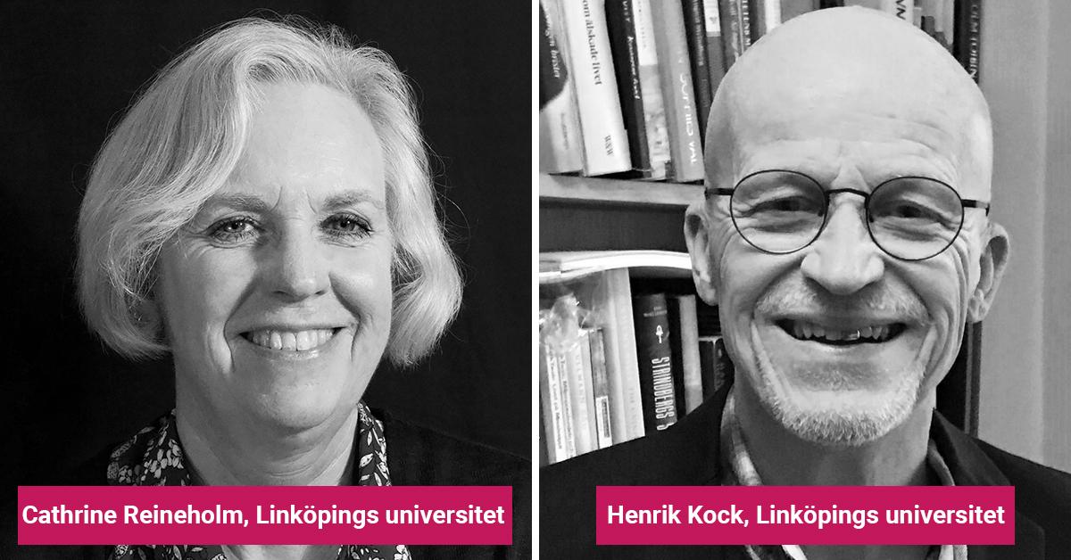 Cathrine Reineholm och Henrik Kock
