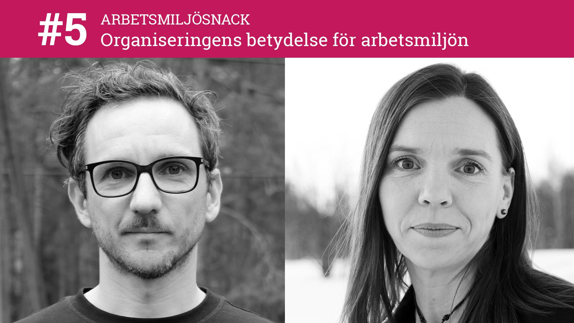 Fredrik Sjögren och Karolina Parding